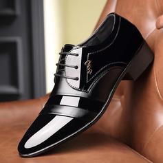 Мужская кожа шнуровка вскользь Платья Men's Oxfords (259209728)