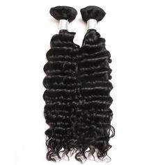 5A Non remy Profond les cheveux humains Tissage en cheveux humains (Vendu en une seule pièce) 100 g