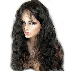 4A Ej remy Kroppsvåg Mänskligt hår Lace Front Parykar