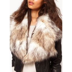 Charmeuse Faux Fur Fashion Wrap