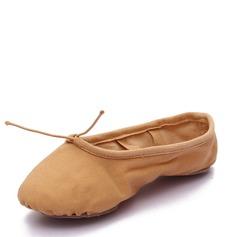 Femmes Toile Chaussures plates Ballet Ventre Chaussures de danse