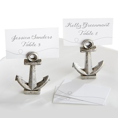 Nautical anchor Resin Place Card Holders (Set of 6)