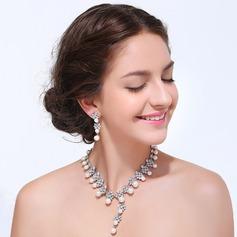 Elegant Legering med Rhinestone Damene ' Smykker Sett