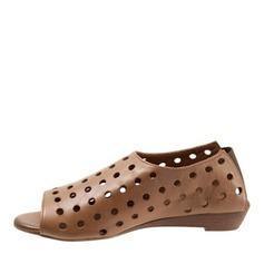 Femmes Similicuir Talon bas Sandales chaussures