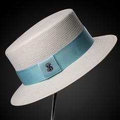 Dames Style Classique/Élégante Raphia paille Chapeau de paille
