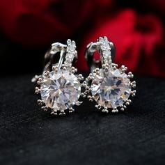 Romantiskt Zirkon Damer' örhängen