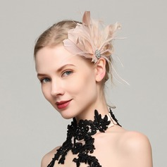 Ladies' Exquisite Feather With Feather Fascinators
