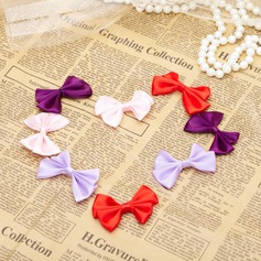 Lovely Bowknot Satin Decorative Accessories (set of 50)