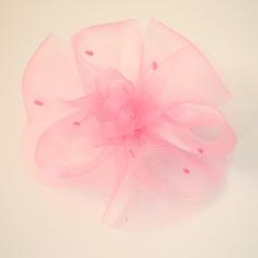Damer Vackra Och Netto garn Panna smycken/Hatt