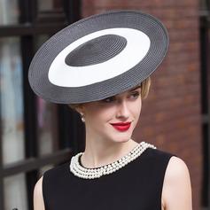 Damer' Iögonfallande polyester Kastare / Cloche Hat