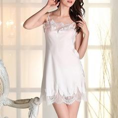 полиэстер/Спандекс Свадебная/женственный пижама