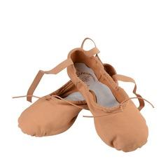 Женщины Атлас На плокой подошве Балет Обувь для танцев