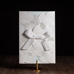 Classic Style/Floral Style Side Fold Invitation Cards With Bows (Set of 50) (114084658)