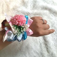 Satiini/Silkki Ranne kukkakimppu -