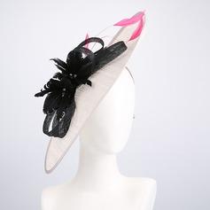 Damen heißeste/Künstlerische Batist mit Blume Kopfschmuck/Kentucky Derby Hüte