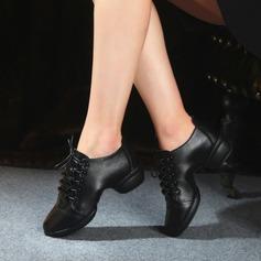 De mujer Piel Zapatillas Zapatillas Zapatos de danza