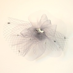 Beau Fil net/Strass Chapeaux de type fascinator/Chapeaux Tea Party