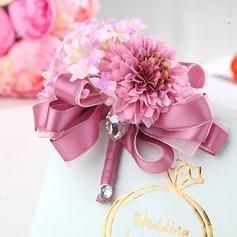 Feminino Tecido Acessórios Femininos/Conjuntos de flores -