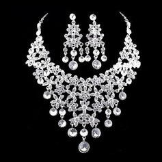 Elegant Alloy/Rhinestones Ladies' Jewelry Sets (011026993)