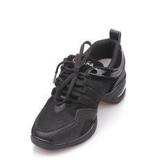 Unisex Cuero Zapatillas Estilo Moderno Entrenamiento Zapatos de danza