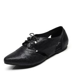 Women's PU Flat Heel Flats shoes