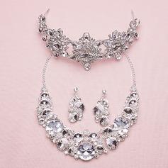 Attractive Liga/Strass com Strass Senhoras Conjuntos de jóias