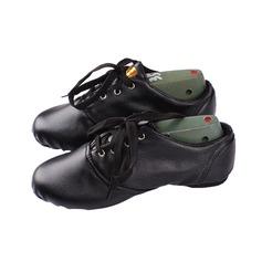 Women's Kids' Leatherette Flats Jazz Dance Shoes