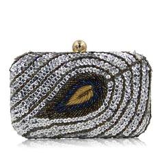Elegant Perlstickerei Handtaschen