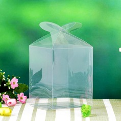 Translucent Cuboid Cupcake Boxes (Set of 12)