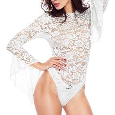 Polyester/Spandex Kleur Sexy Bruids/Vrouwelijk nachtgoed/Bodysuit/Bruidslingerie (041210813)
