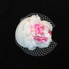 Senhoras Elegante Tule Fascinators