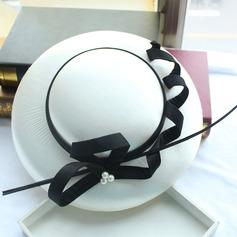 Dames Beau/Magnifique/Mode Coton Chapeaux de type fascinator