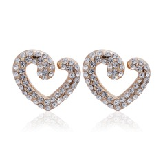 Nice Alloy With Crystal Ladies' Earrings