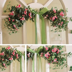 Decorative Artificial Flowers  Mirror Flowers Door Lintel Flower Vine Party Supplies Home Wedding Decoration