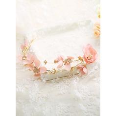 med Blomma Flower Pannband