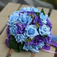 Gorgeous Round PE Bridal Bouquets/Bridesmaid Bouquets