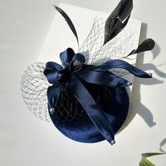 Damer' Särskilda Bomull med Tyll Fascinators