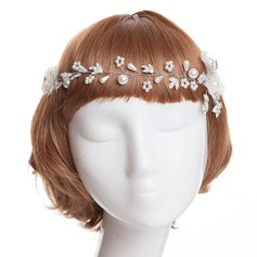 Amazing Imitation Pearls/Artificial Silk Headbands