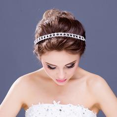 Basit/Güzel Kristal Headbands