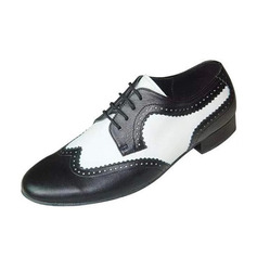 Men's Real Leather Flats Latin Ballroom Swing Dance Shoes (053046442)