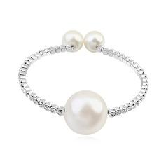 Élégante Cristal/Platine plaqué Dames Bracelets