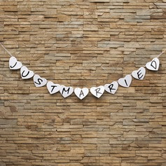 Heart Shaped Card Paper Photo Booth Props/Banner