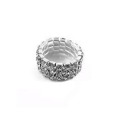 Brilhando Liga com Imitação de diamante Senhoras' Anéis