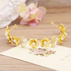Smukke Crystal/Legering/Imiteret Pearl Tiaraer