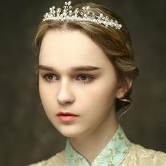 Beautiful Crystal/Imitation Pearls Tiaras