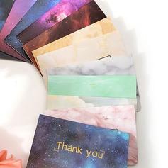 Moderne Stijl Zijvouw Dank u kaarten (Set van 50)