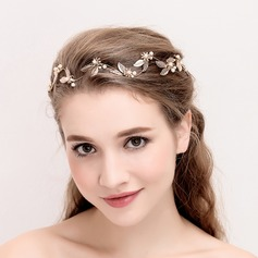 Ladies Romantic Alloy/Imitation Pearls Headbands