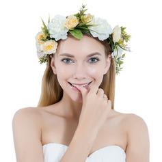 Damer Vackra Och Siden blomma/Satäng Pannband