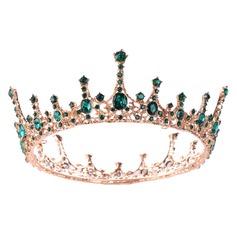 Ladies Elegant Rhinestone/Alloy/Imitation Pearls Tiaras With Rhinestone/Venetian Pearl (Sold in single piece)