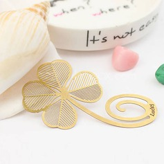 Clover Shaped Zinc Alloy Bookmarks